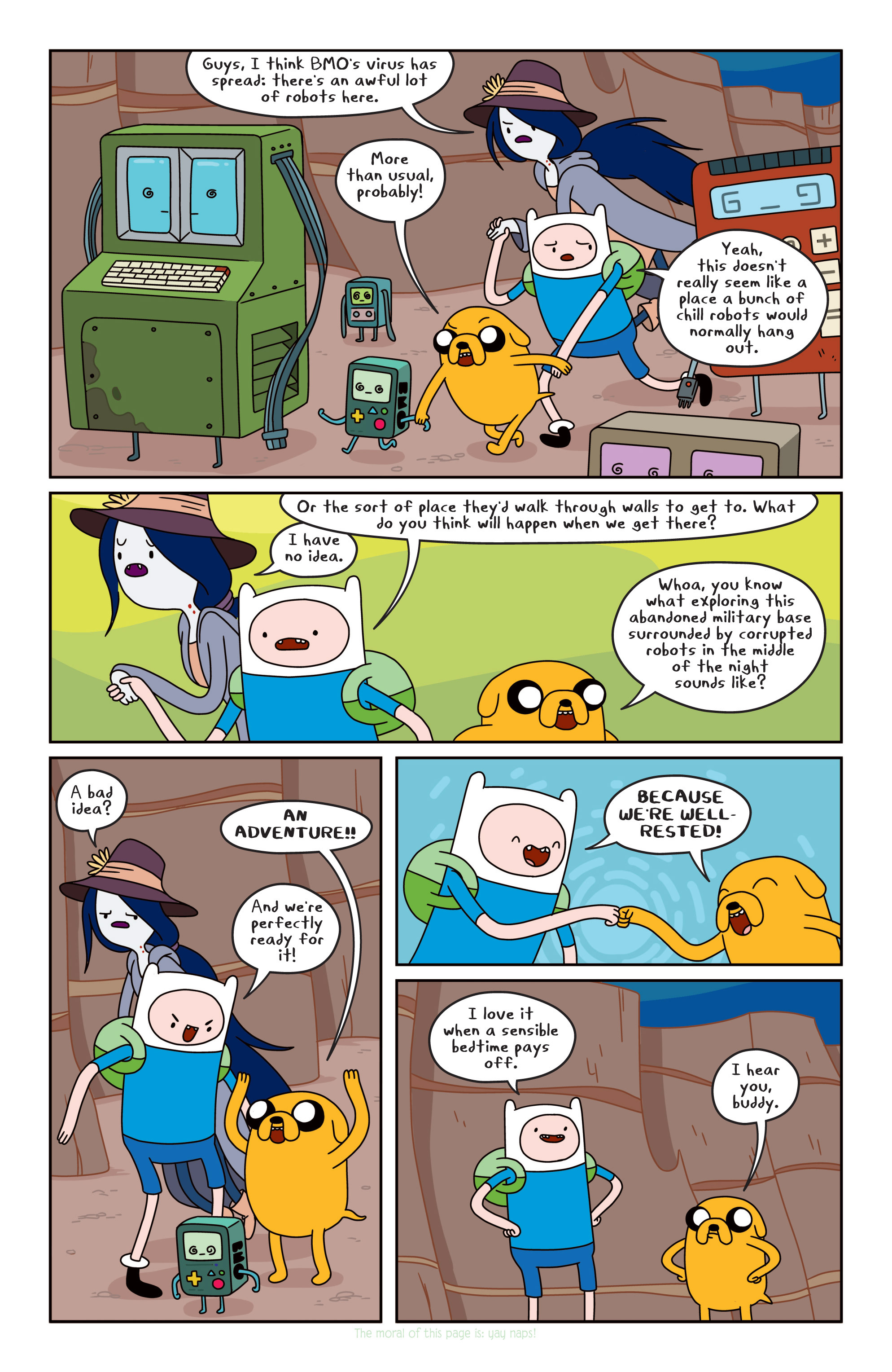 Read online Adventure Time comic -  Issue #13 - 6