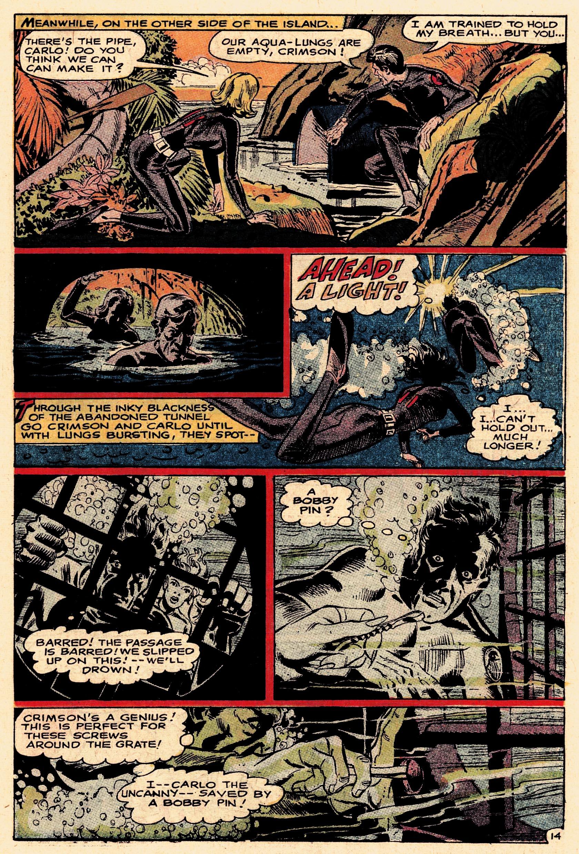 Read online Secret Six (1968) comic -  Issue #1 - 19