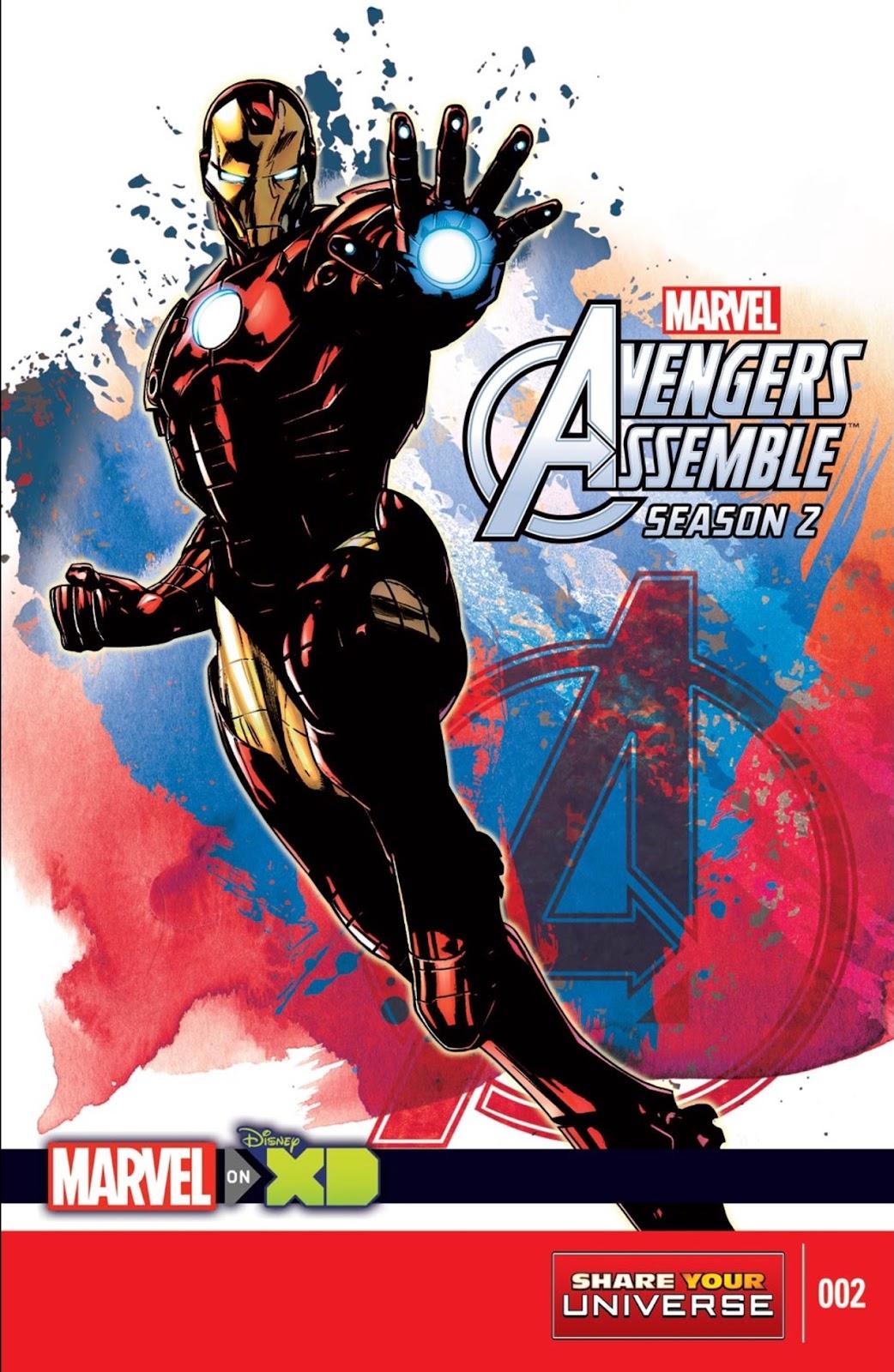 Read online Marvel Universe Avengers Assemble Season 2 comic -  Issue #2 - 1