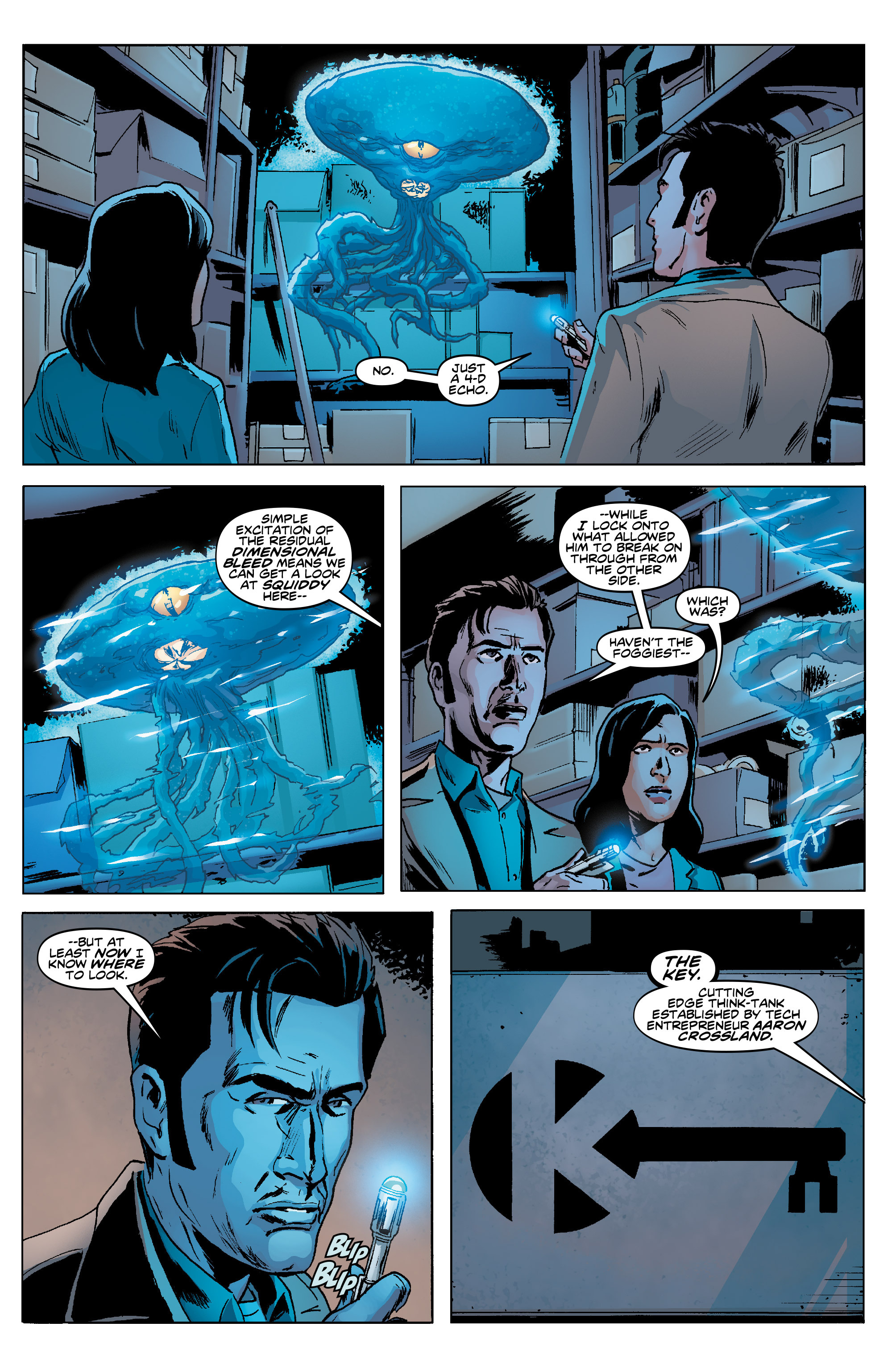 Read online Doctor Who: The Tenth Doctor Year Three comic -  Issue #5 - 12