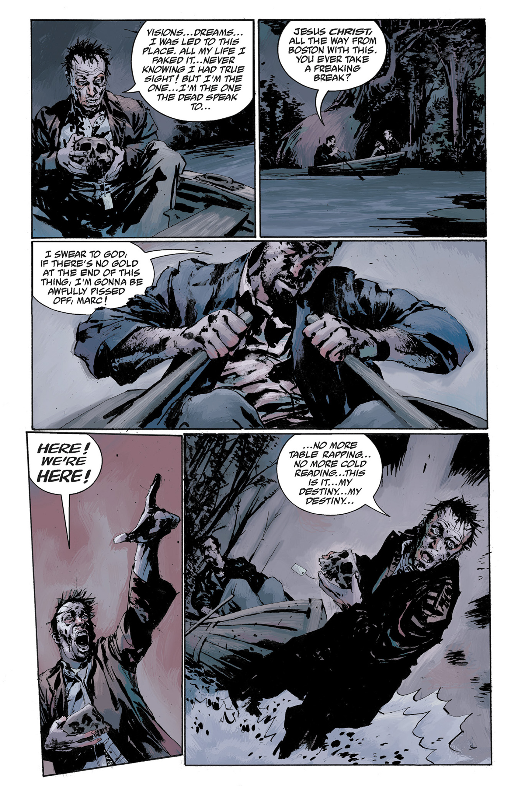 Read online Hellboy: The Crooked Man and Others comic -  Issue # TPB - 90