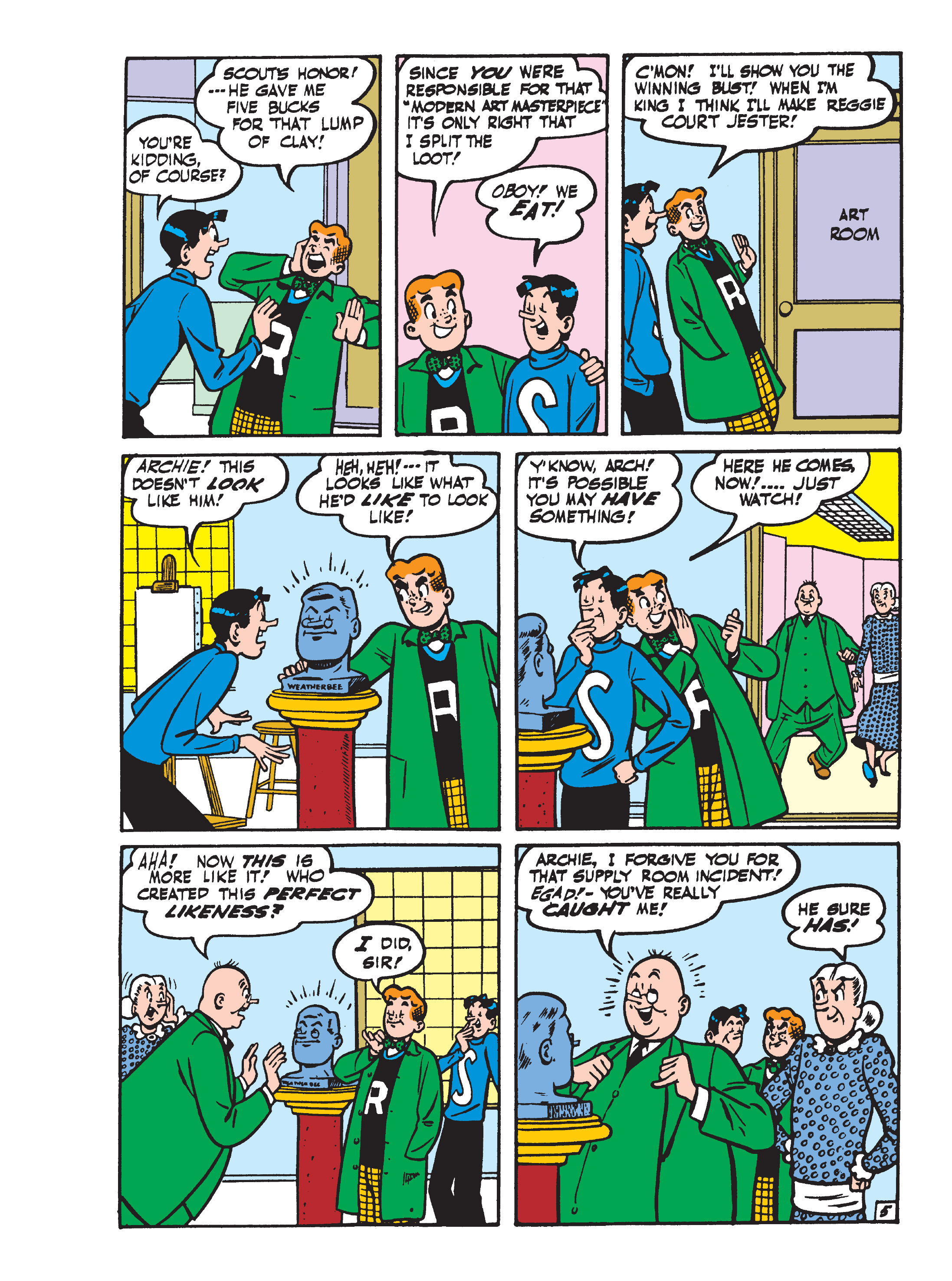 Read online World of Archie Double Digest comic -  Issue #55 - 138