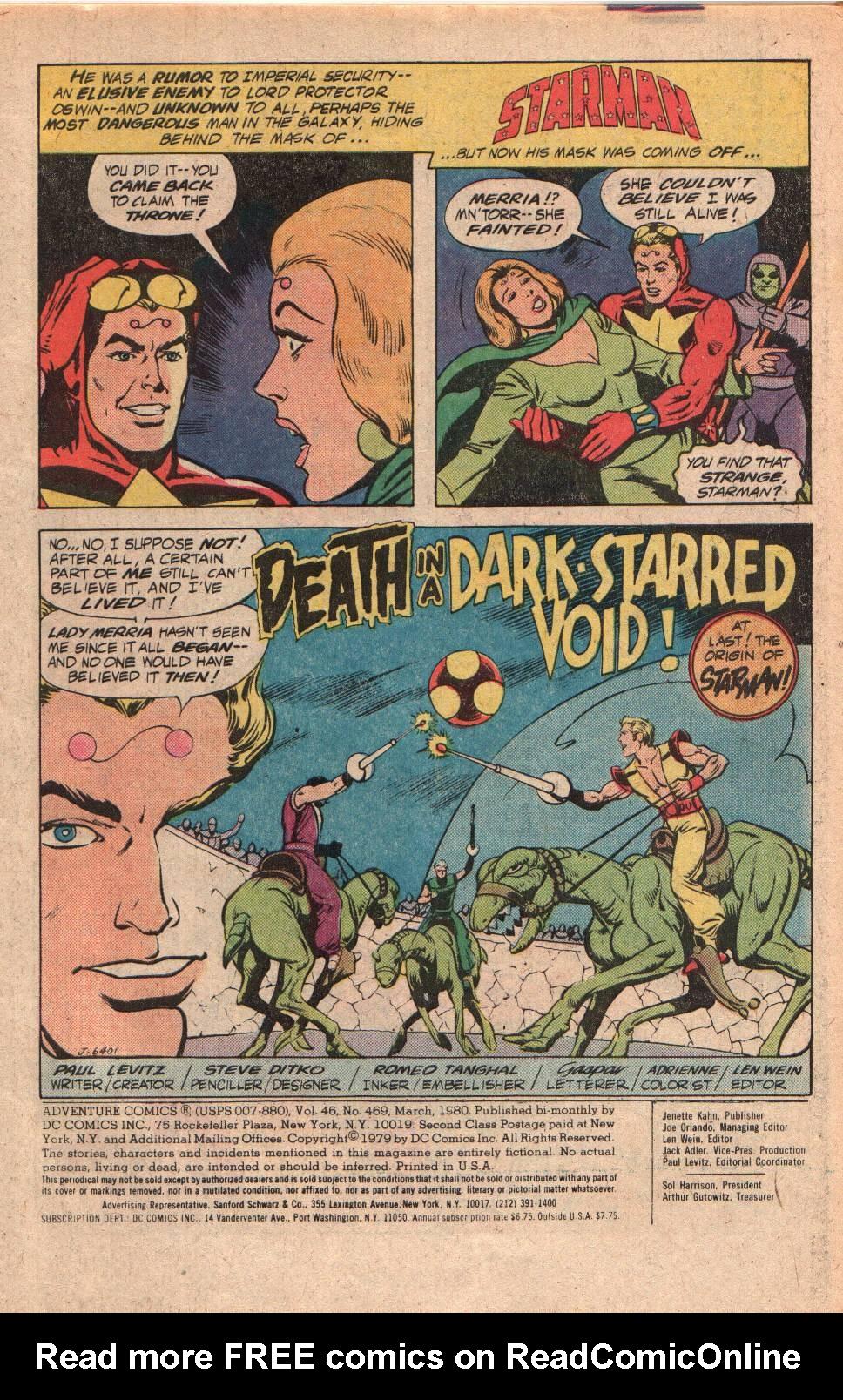 Read online Adventure Comics (1938) comic -  Issue #469 - 3