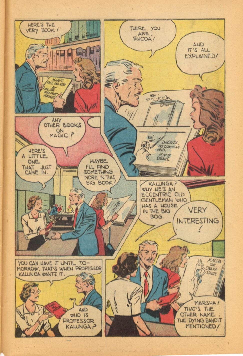 Read online Super-Magician Comics comic -  Issue #44 - 45