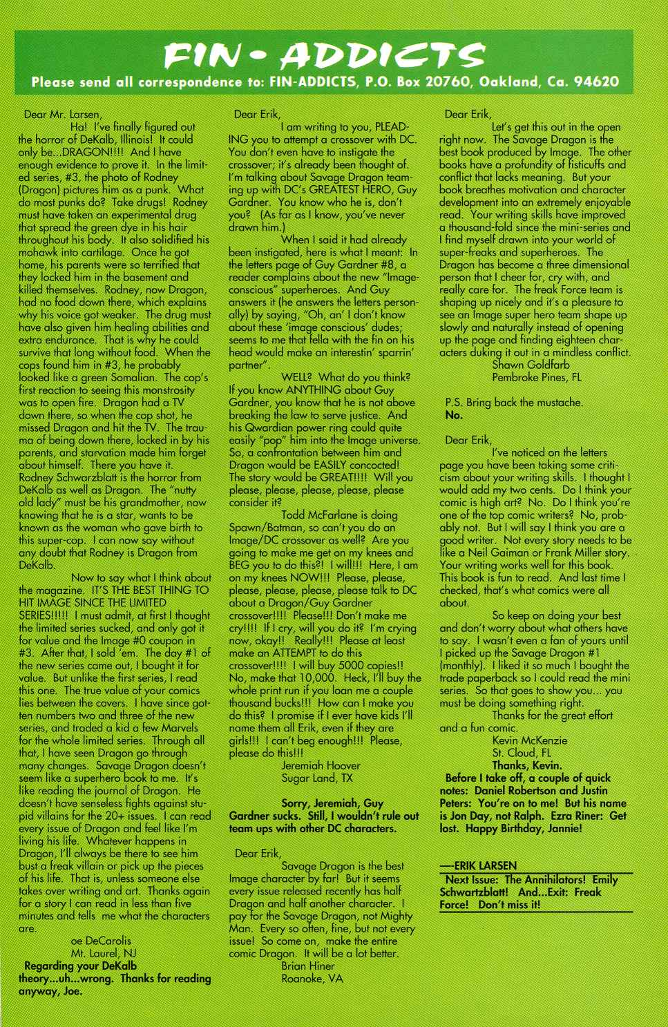 The Savage Dragon (1993) Issue #5 #7 - English 25