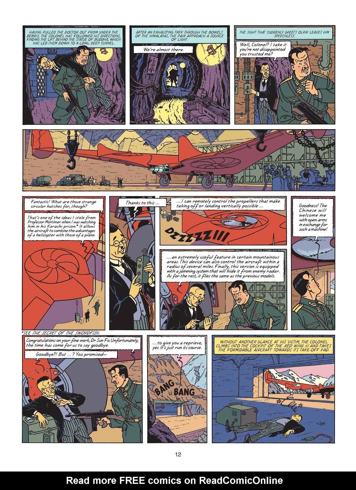 Read online Blake & Mortimer comic -  Issue #25 - 14