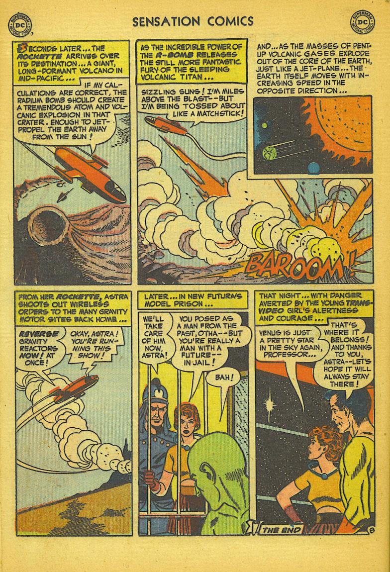 Read online Sensation (Mystery) Comics comic -  Issue #104 - 34