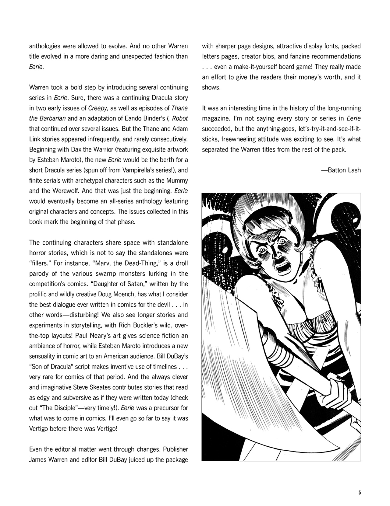 Read online Eerie Archives comic -  Issue # TPB 10 - 6