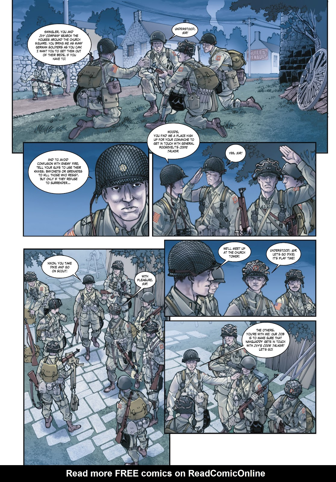 Read online Opération Overlord comic -  Issue #1 - 28