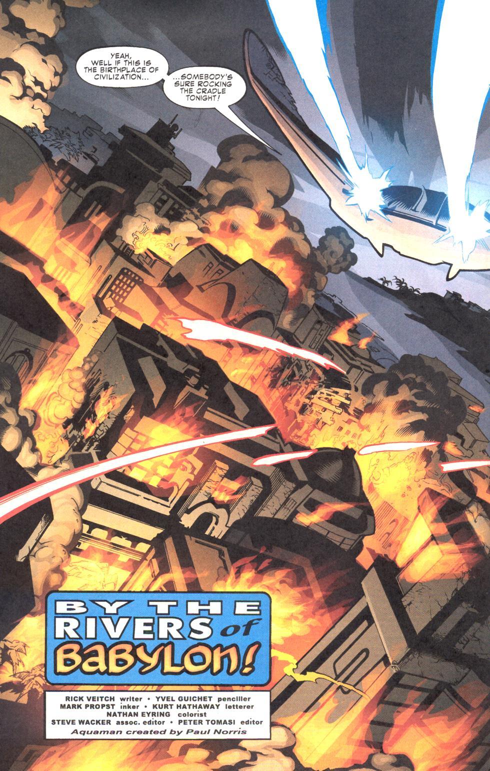 Read online Aquaman (2003) comic -  Issue #11 - 5