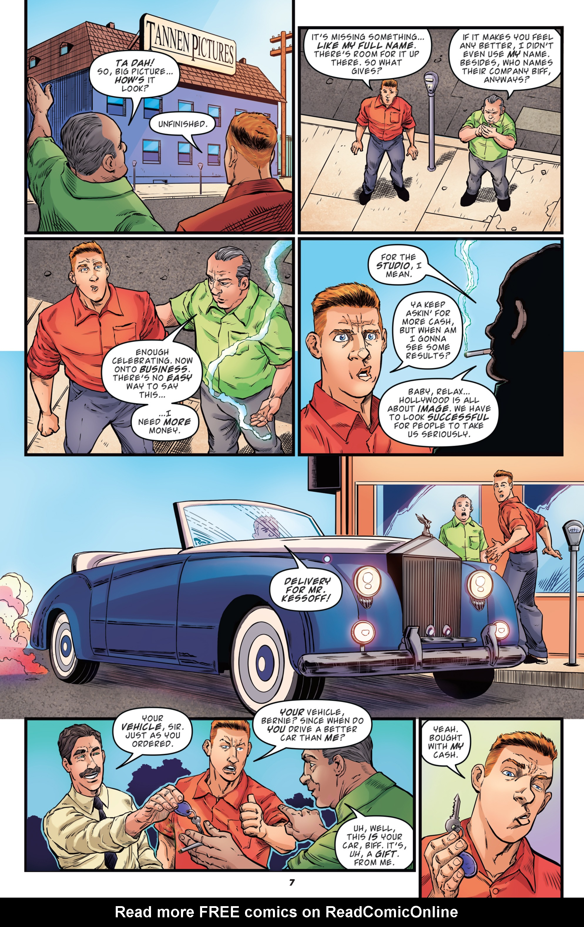 Read online Back to the Future: Biff to the Future comic -  Issue #2 - 9