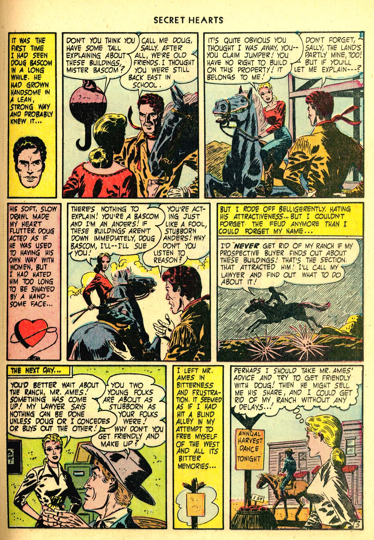 Read online Secret Hearts comic -  Issue #6 - 23