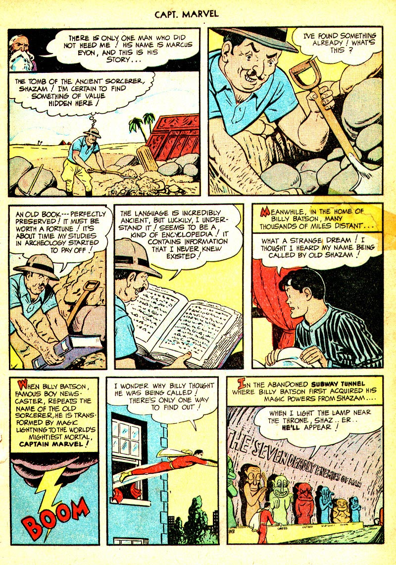 Captain Marvel Adventures issue 93 - Page 5