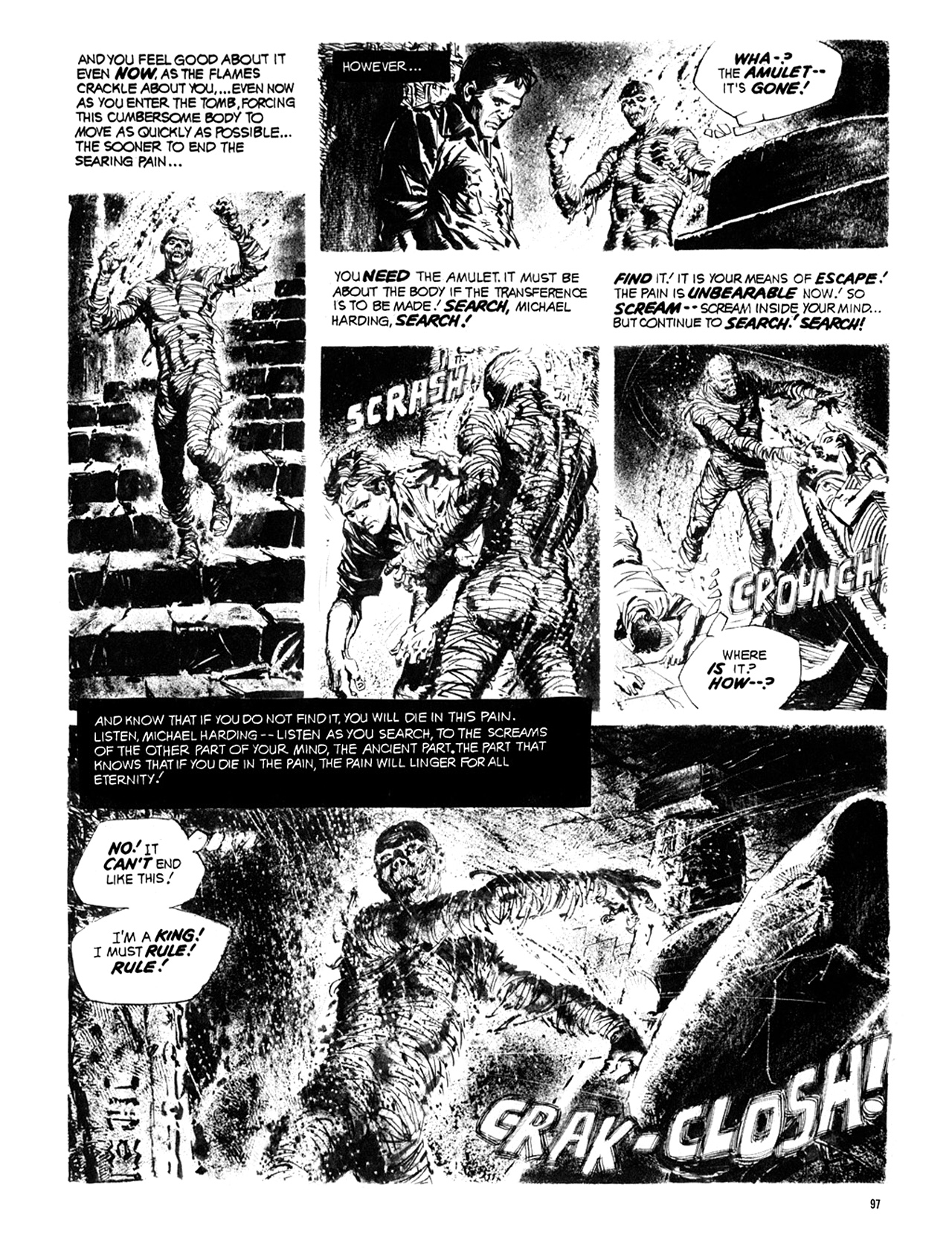 Read online Eerie Archives comic -  Issue # TPB 10 - 98