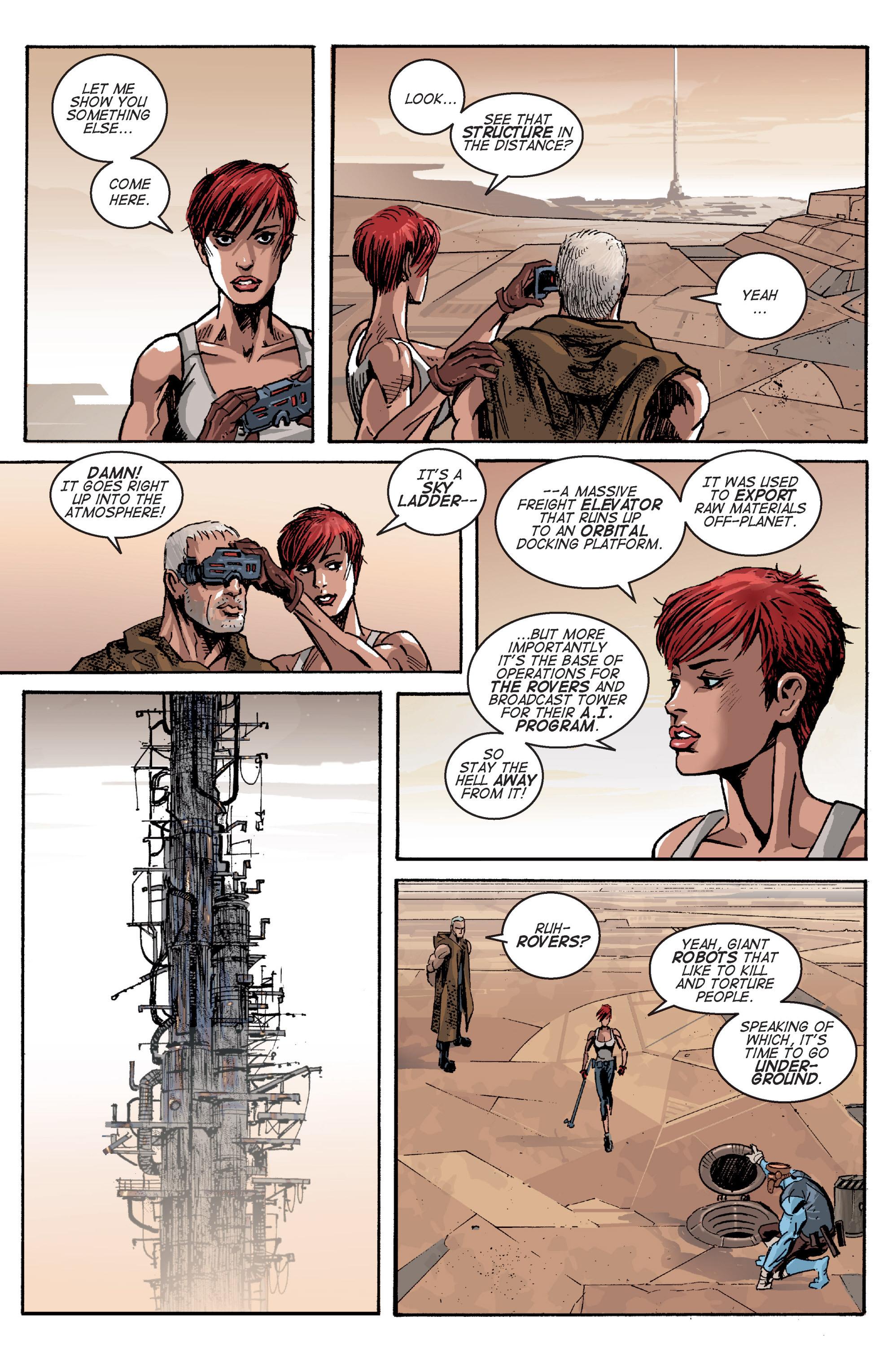 Read online Planetoid comic -  Issue # TPB - 62