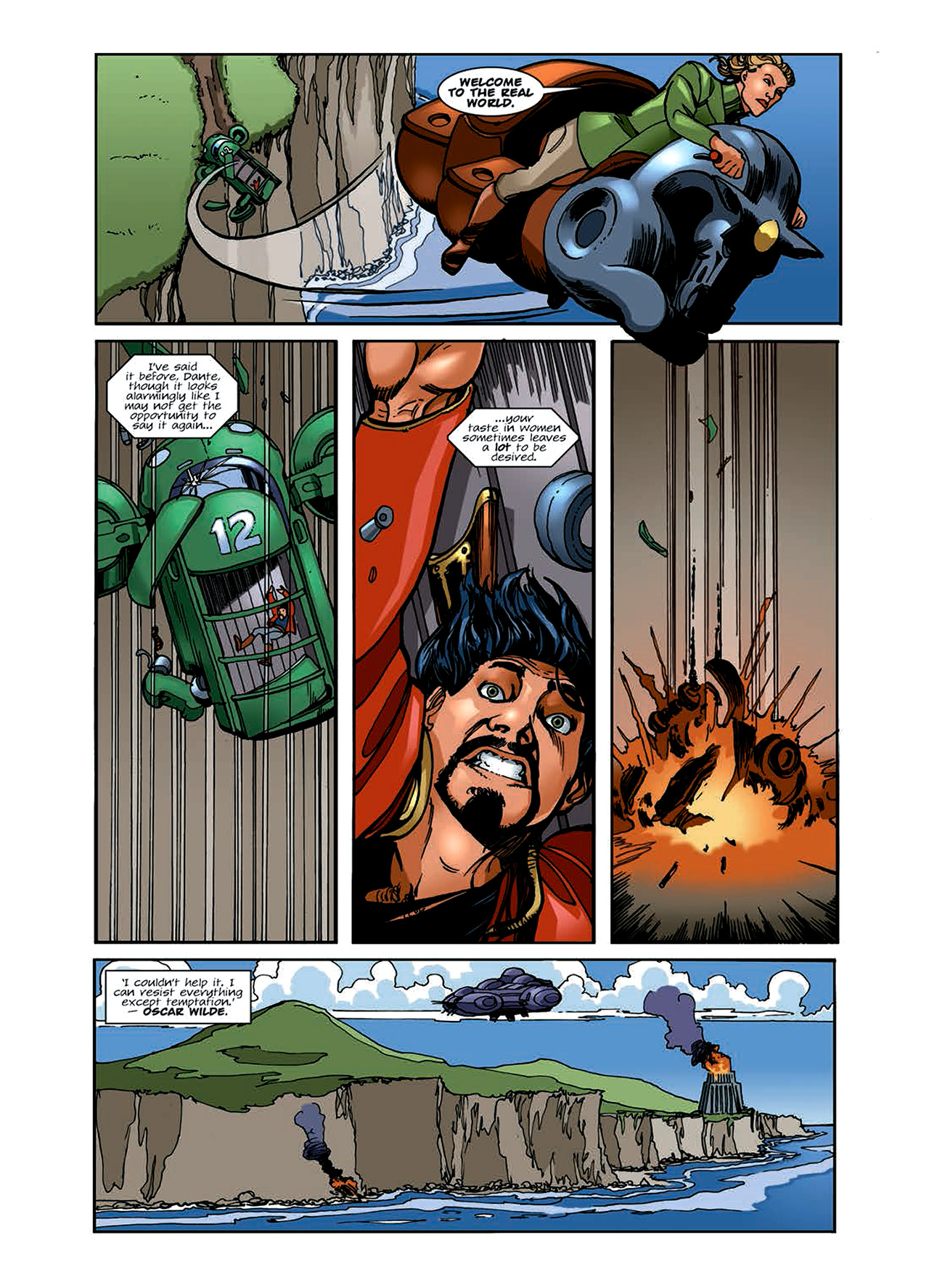 Read online Nikolai Dante comic -  Issue # TPB 6 - 78