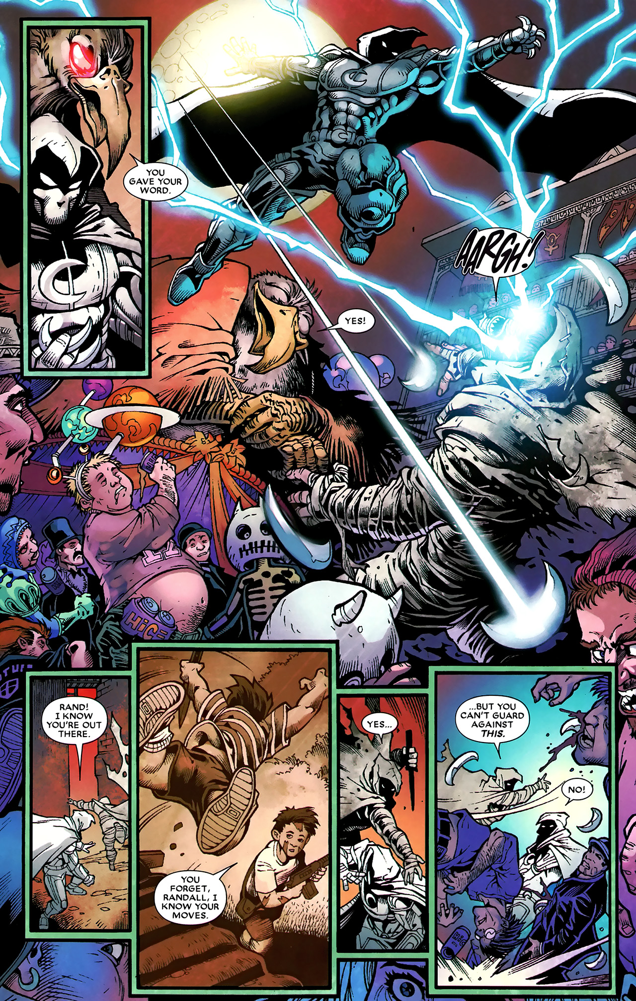 Read online Shadowland: Moon Knight comic -  Issue #3 - 18