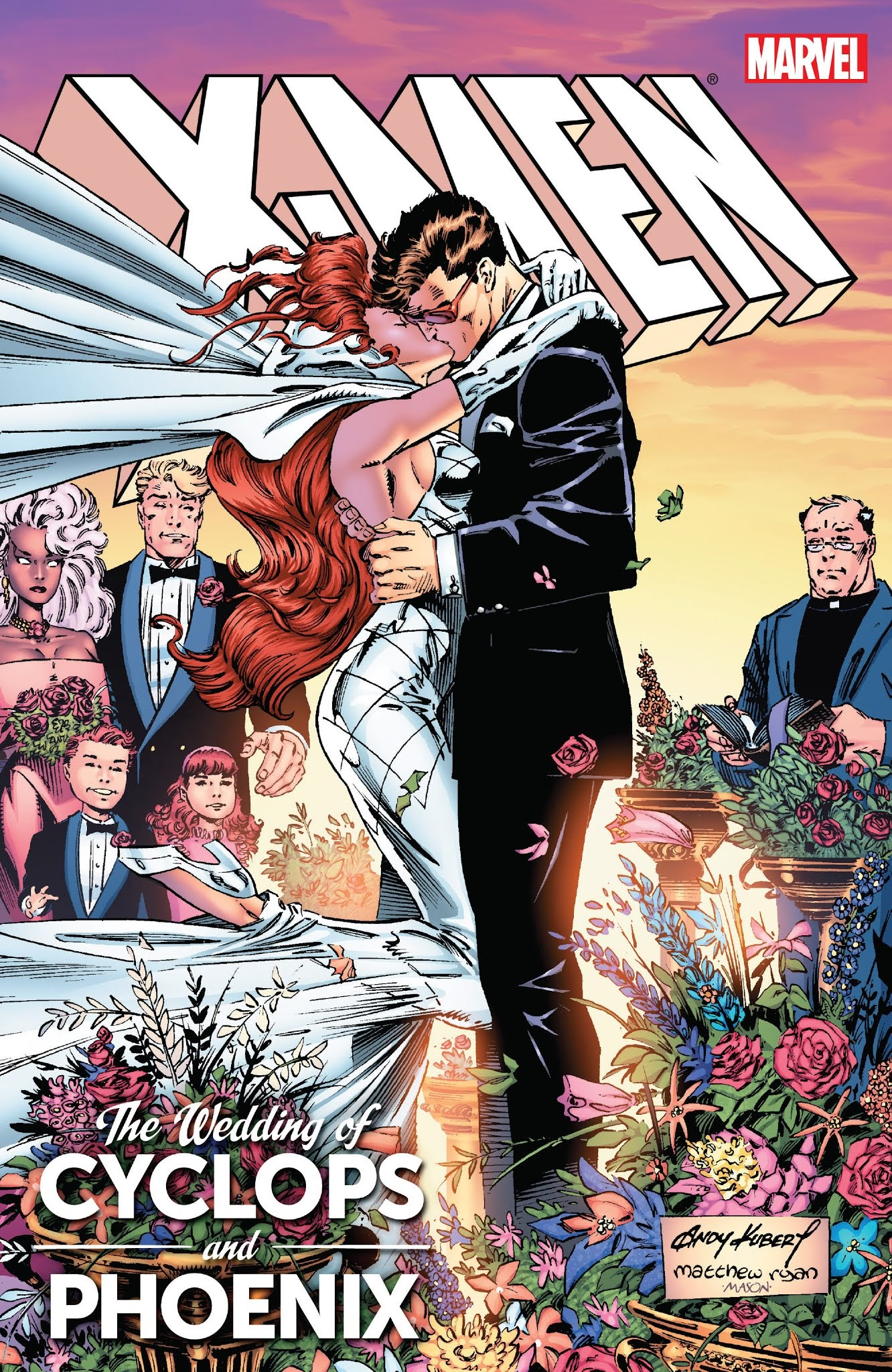 X-Men: The Wedding of Cyclops and Phoenix issue TPB_Part_1 - Page 1