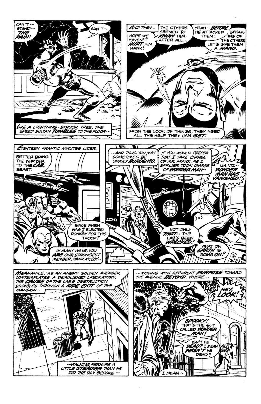 Essential Avengers issue TPB 7 Part 3 - Page 1