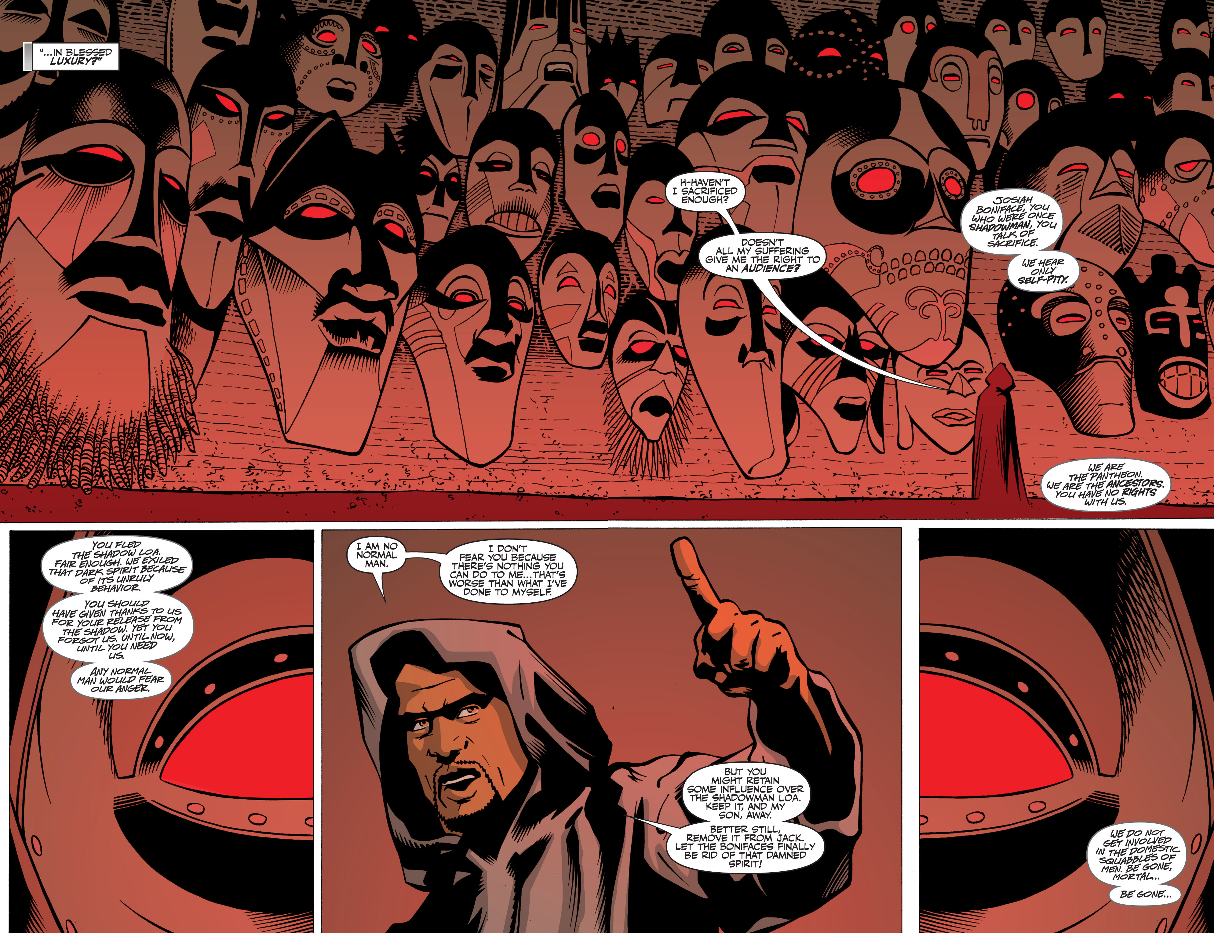 Read online Shadowman: End Times comic -  Issue #3 - 6