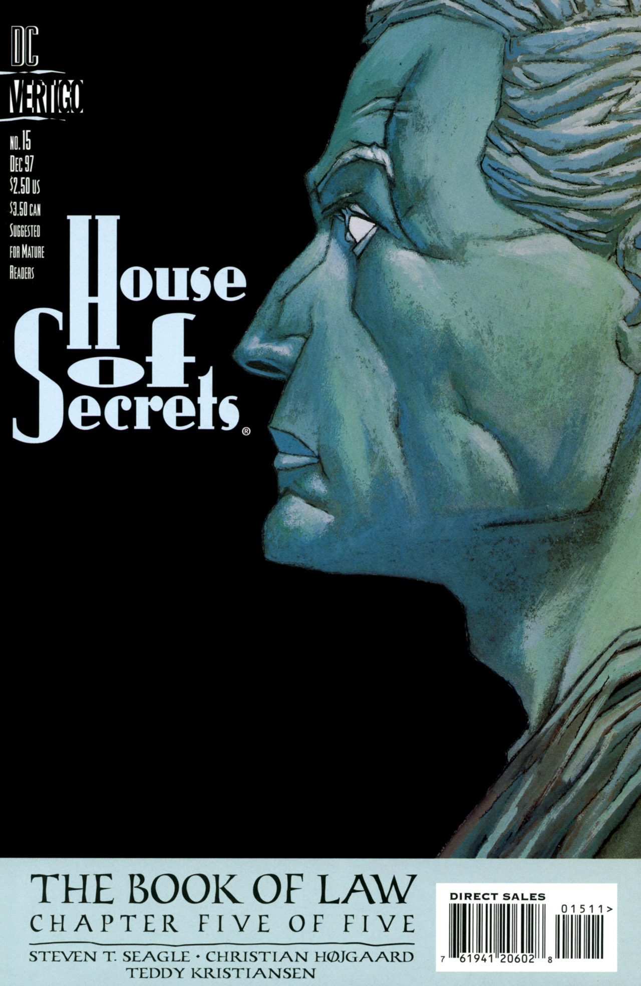 House of Secrets (1996) issue 15 - Page 1