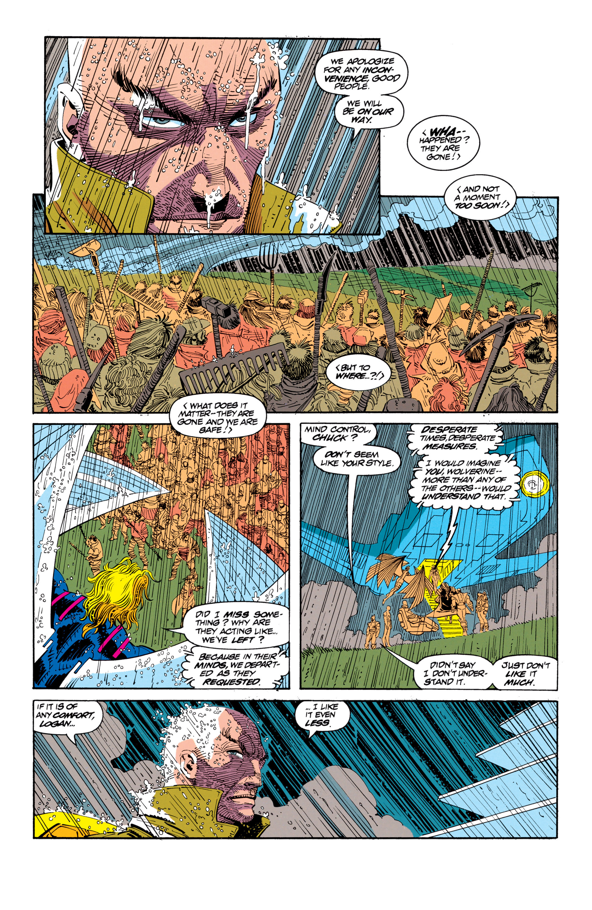 Read online Uncanny X-Men (1963) comic -  Issue #300 - 11