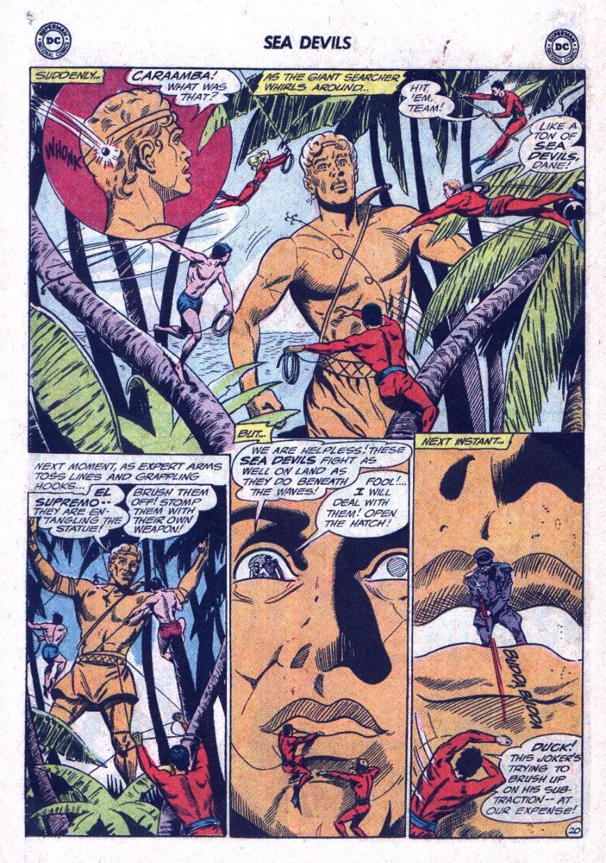 Read online Sea Devils comic -  Issue #25 - 27