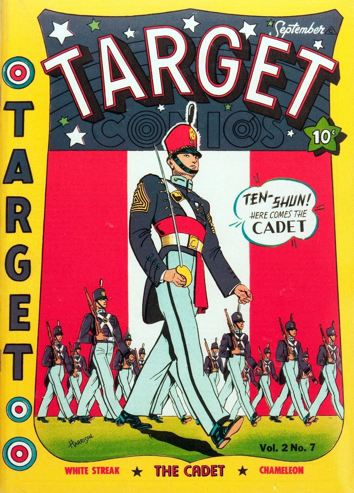 Target Comics 19 Page 1