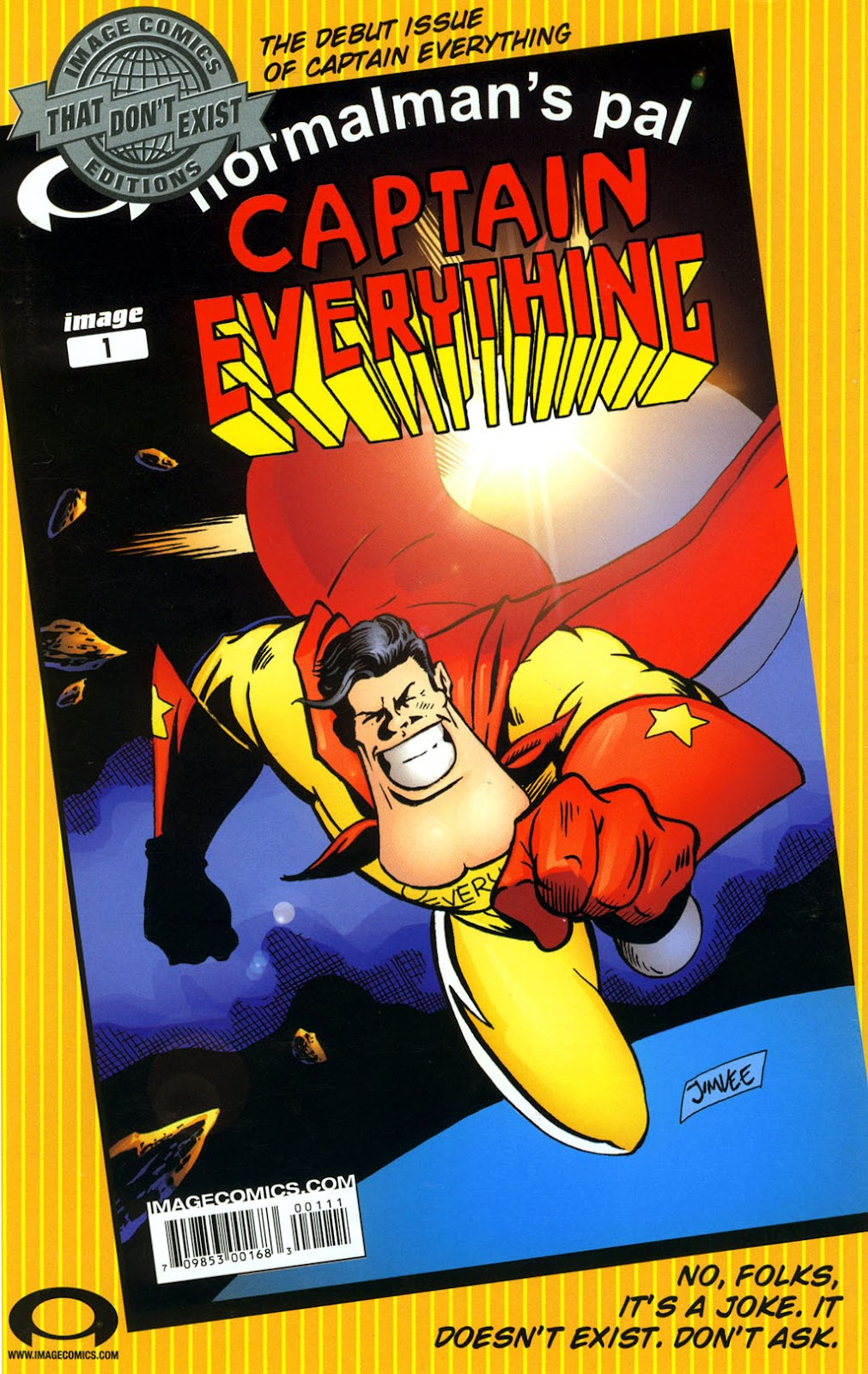 Read online Normalman 20th Anniversary Special comic -  Issue # Full - 36