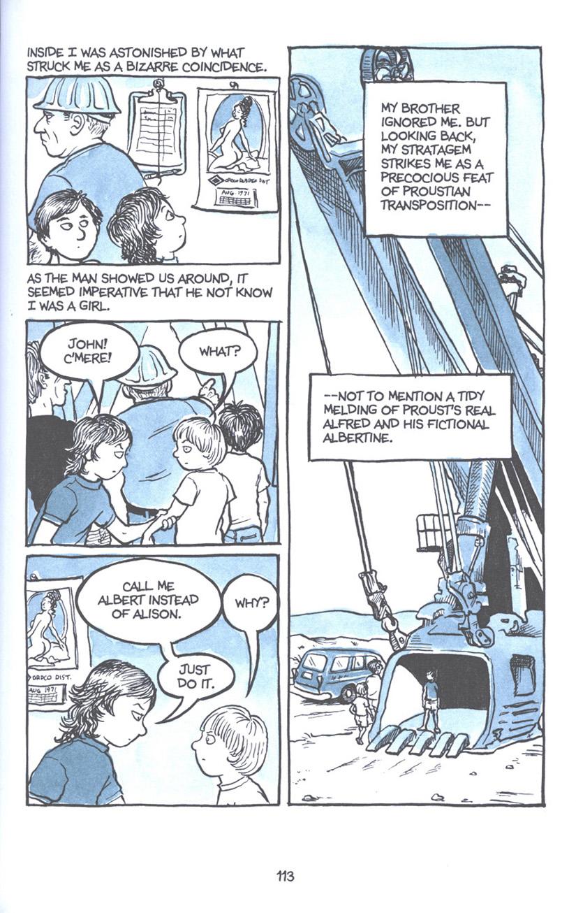 Read online Fun Home: A Family Tragicomic comic -  Issue # TPB - 119