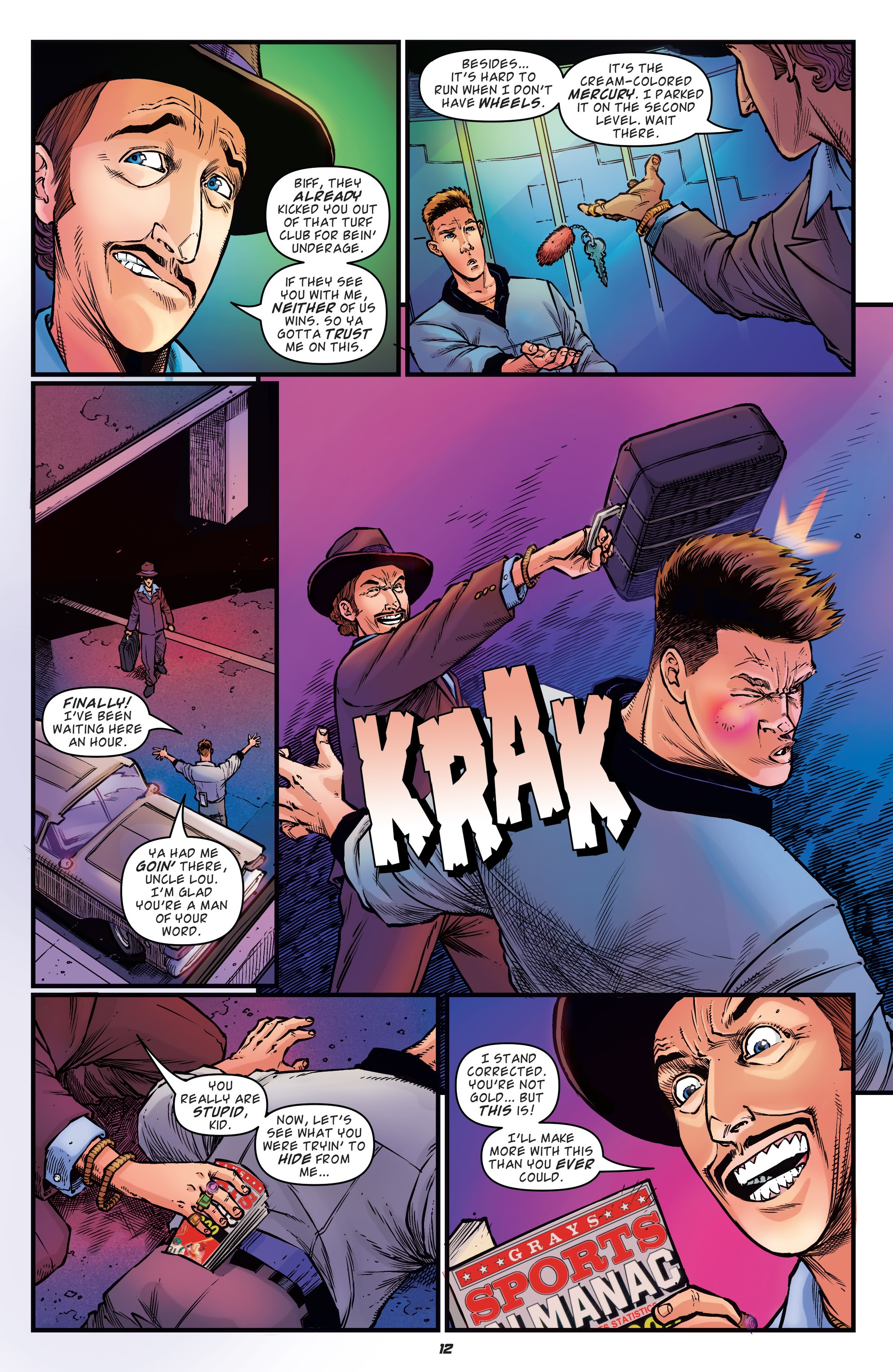 Read online Back to the Future: Biff to the Future comic -  Issue #1 - 14