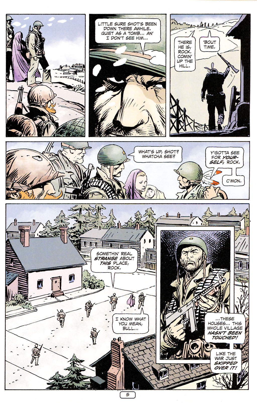 Read online Sgt. Rock: The Prophecy comic -  Issue #5 - 5