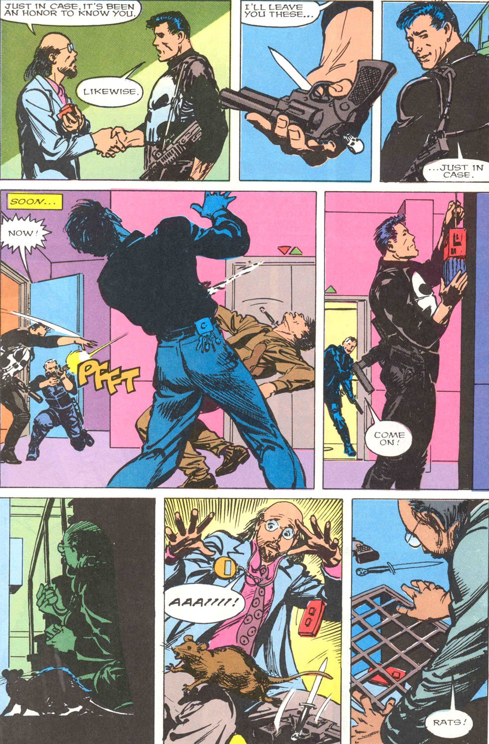The Punisher Movie Special issue Full - Page 56