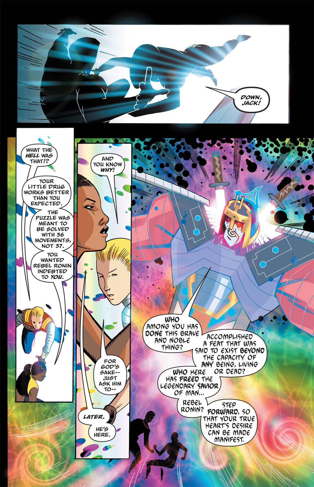 Read online The Many Adventures of Miranda Mercury: Time Runs Out comic -  Issue # TPB - 31
