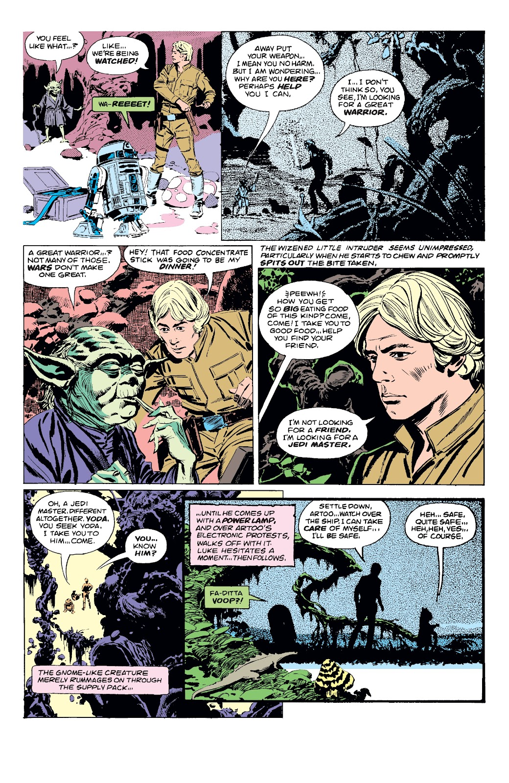 Read online Star Wars Legends: The Original Marvel Years - Epic Collection comic -  Issue # TPB 3 (Part 1) - 63