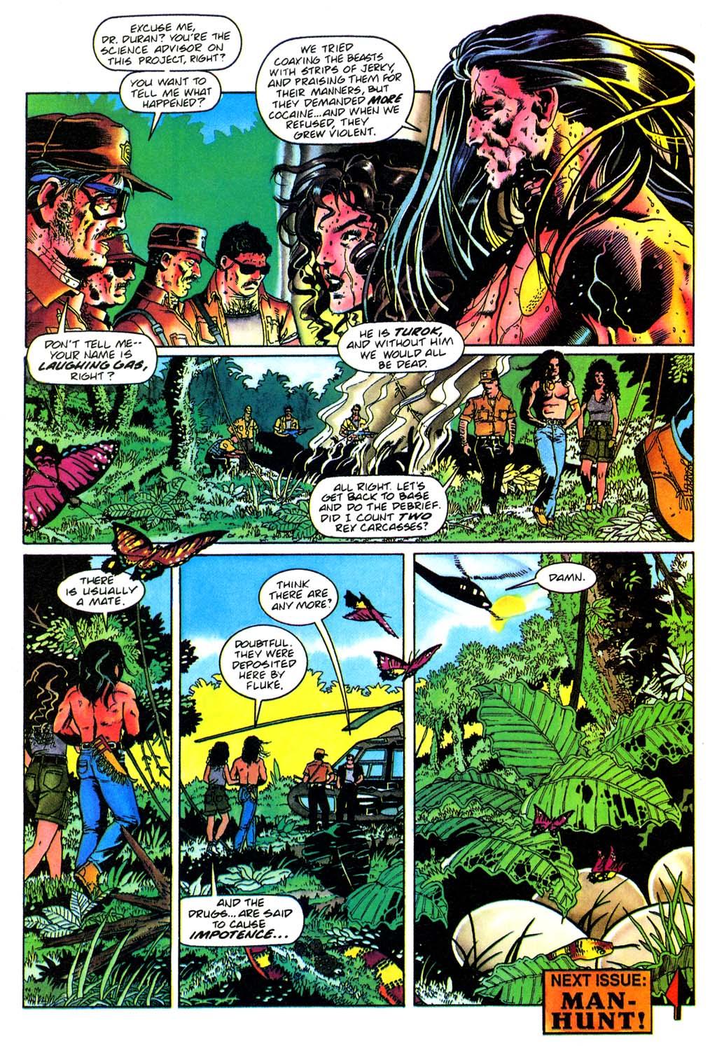 Read online Turok, Dinosaur Hunter (1993) comic -  Issue #28 - 22