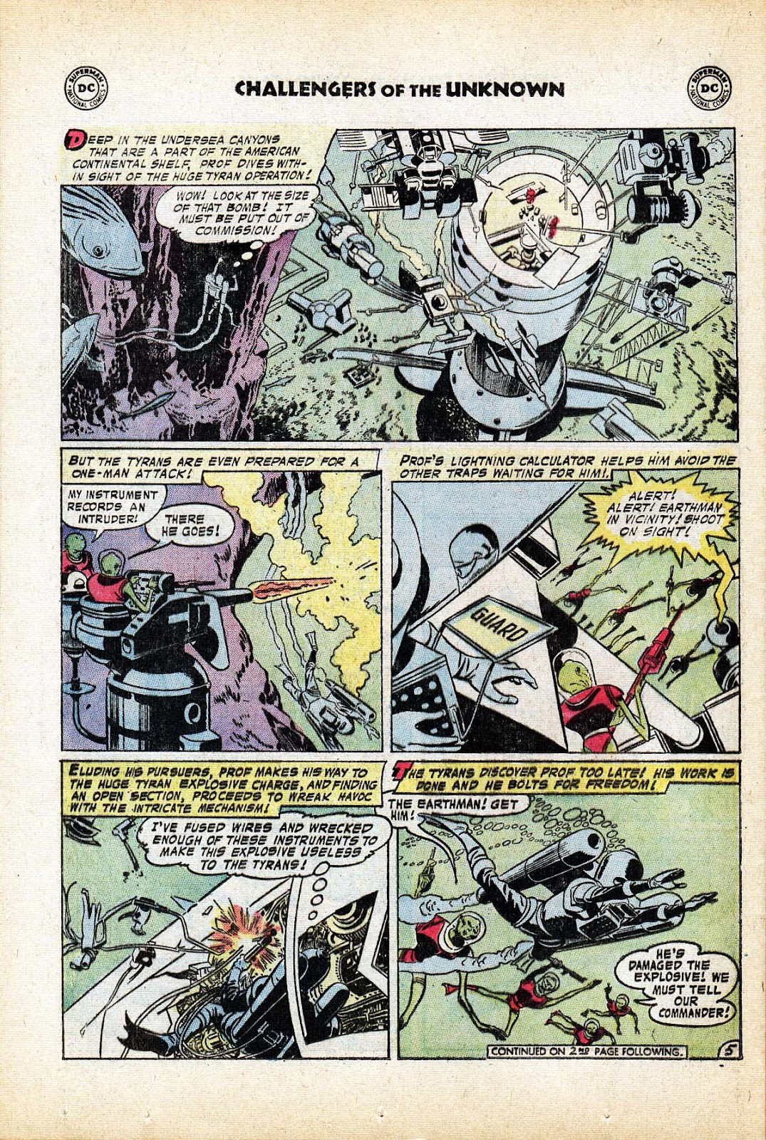 Challengers of the Unknown (1958) issue 80 - Page 24
