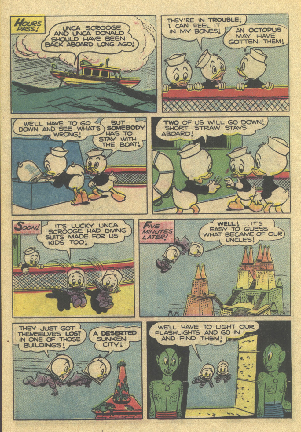 Read online Uncle Scrooge (1953) comic -  Issue #189 - 24