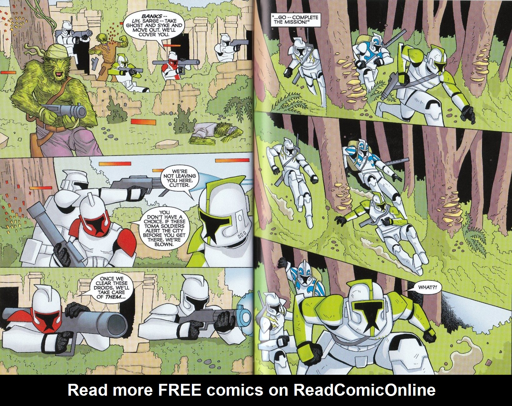 Read online Star Wars: The Clone Wars - The Enemy Within comic -  Issue # Full - 23