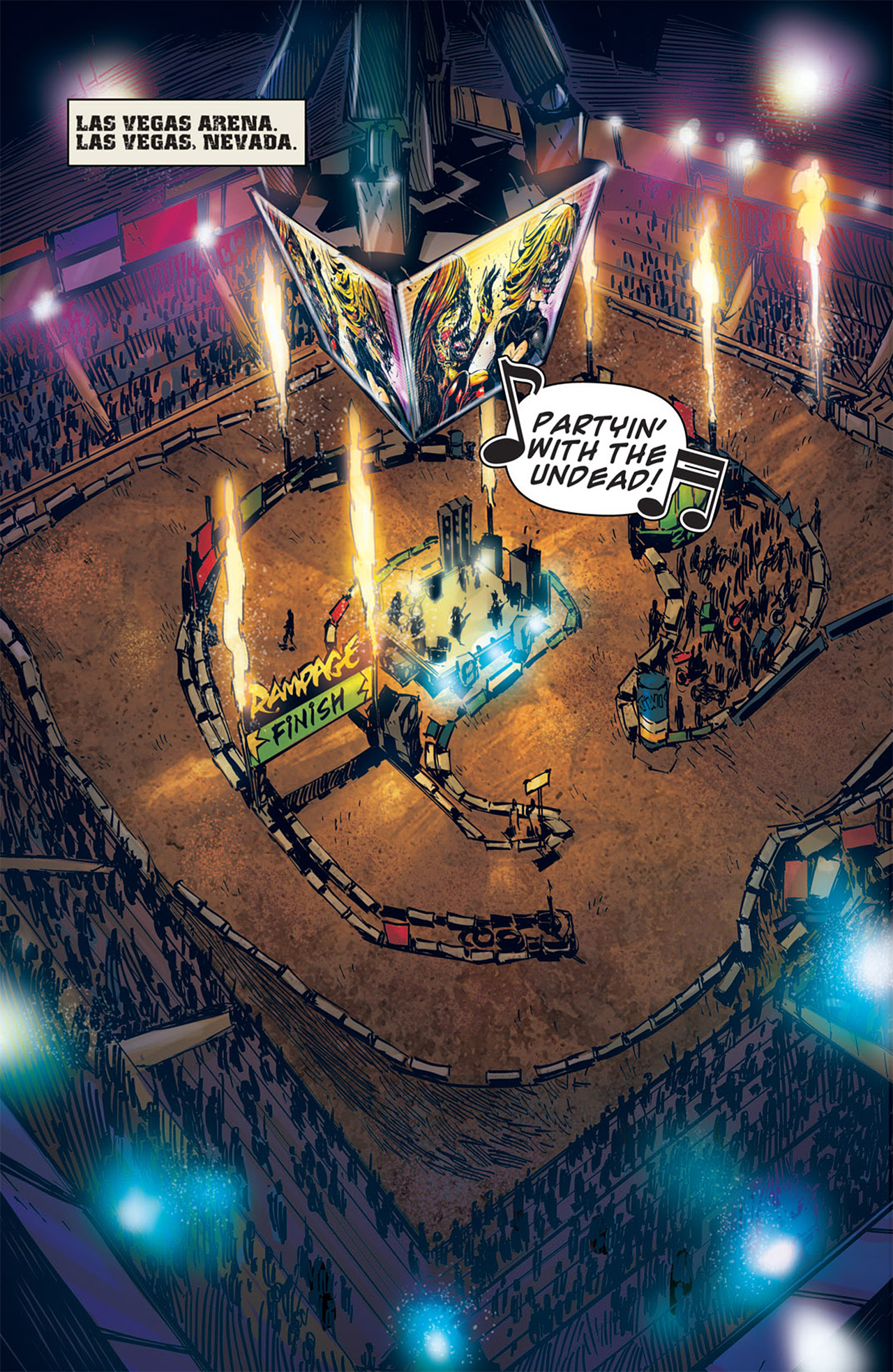 Read online Dead Rising: Road to Fortune comic -  Issue # TPB - 55