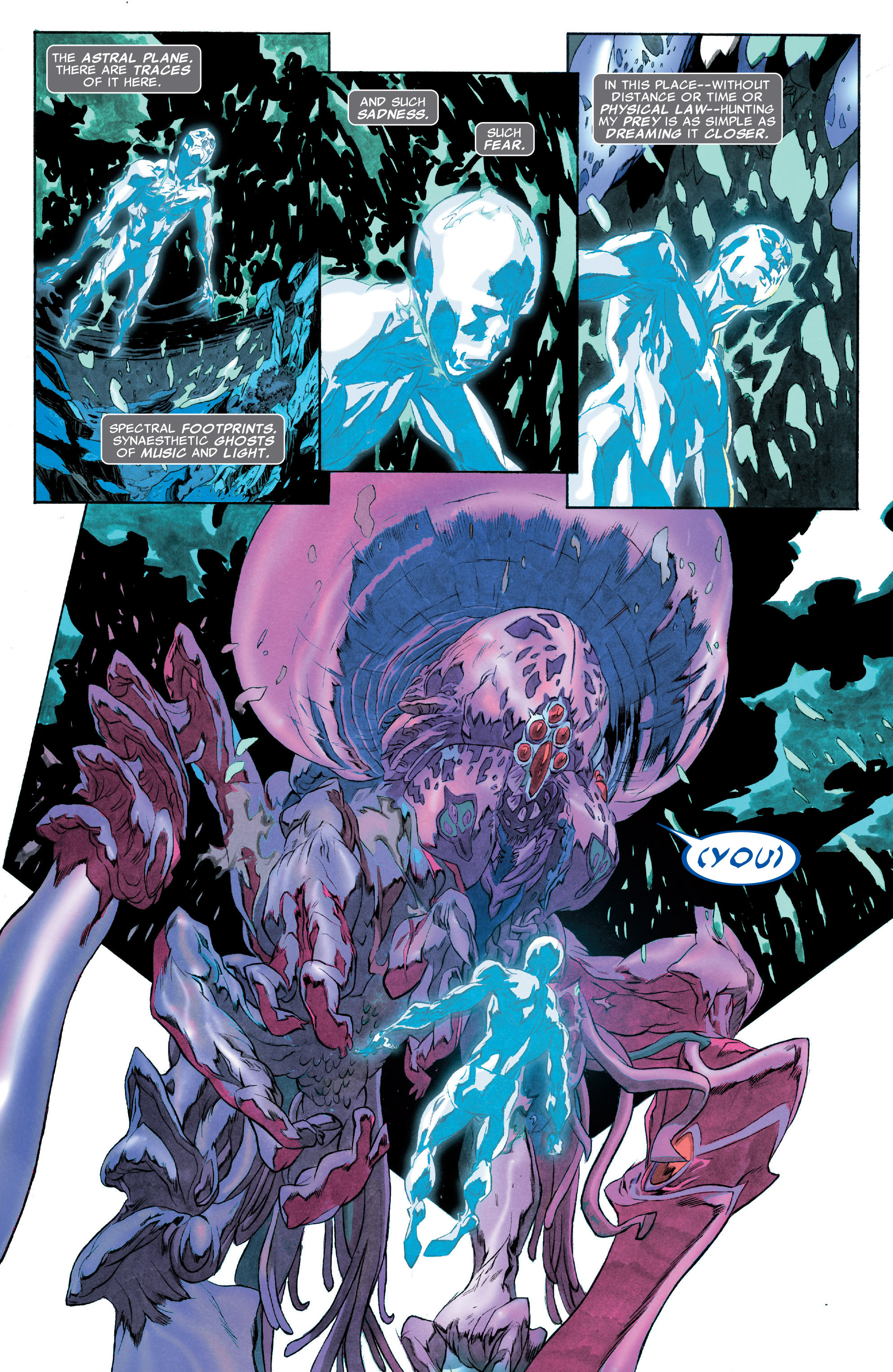 Read online Silver Surfer: In Thy Name comic -  Issue #3 - 10