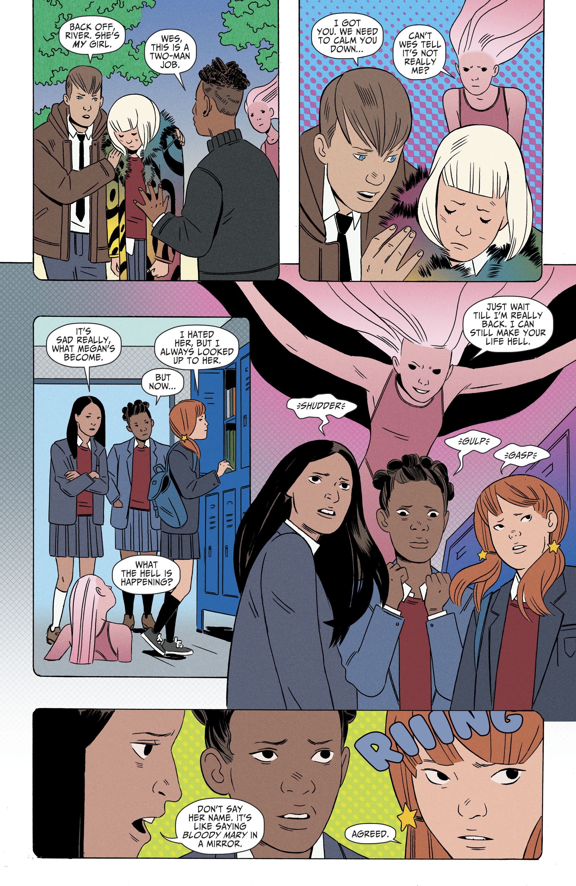 Read online Shade, the Changing Girl comic -  Issue #6 - 7