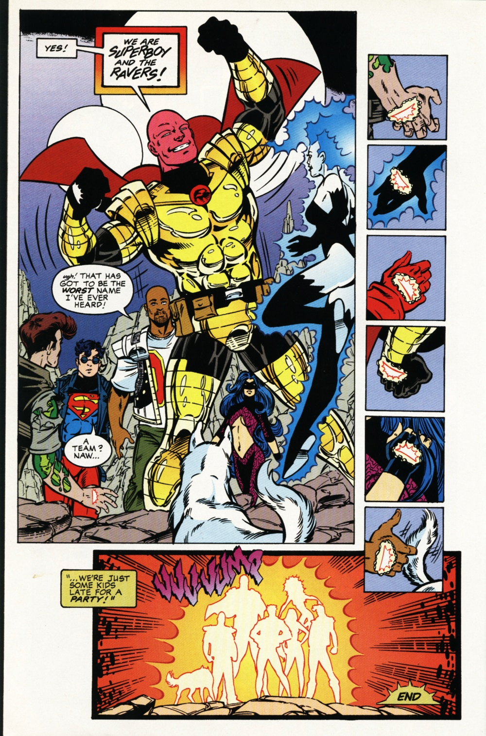 Read online Superboy & The Ravers comic -  Issue #4 - 23