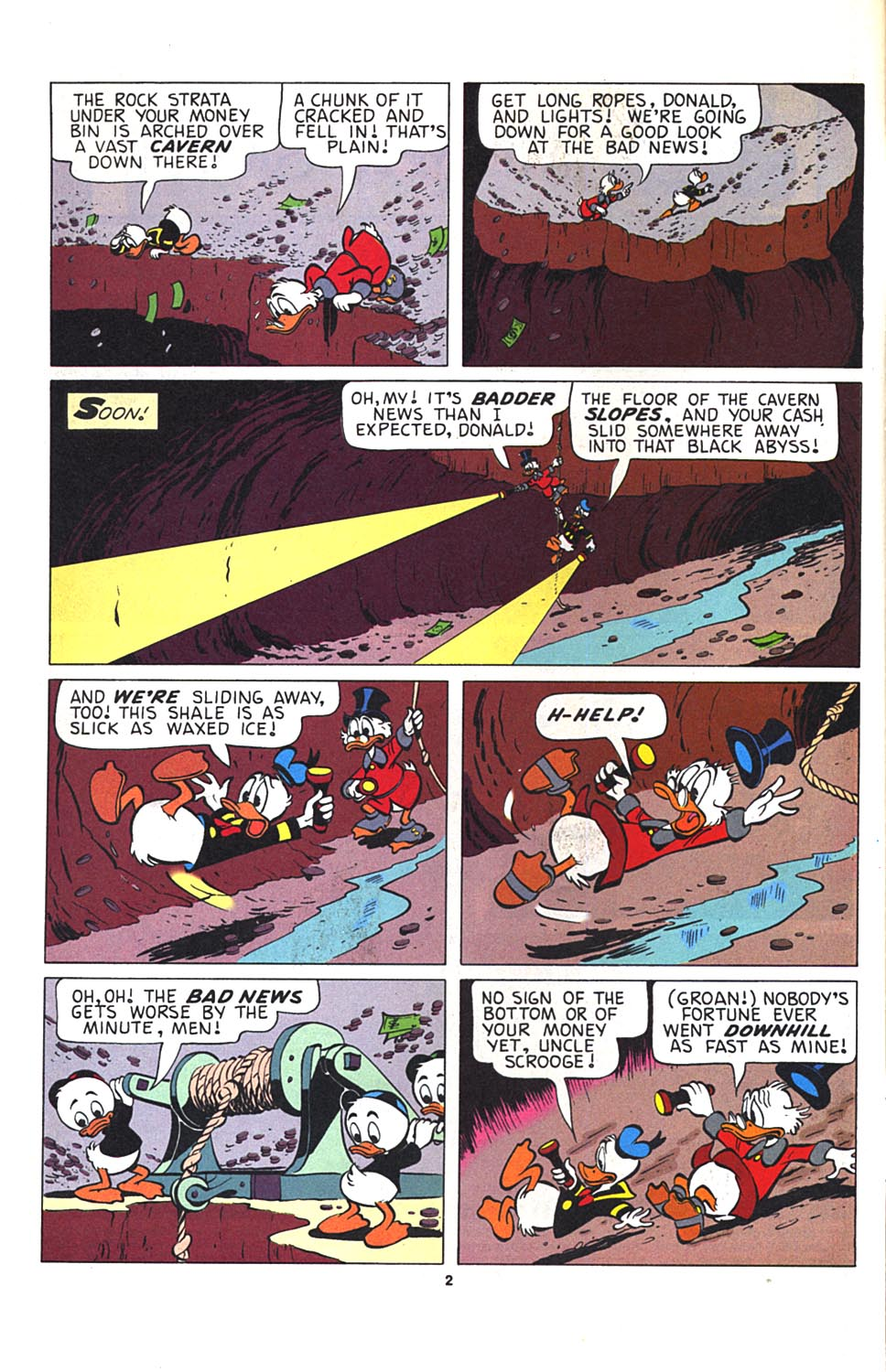 Read online Uncle Scrooge (1953) comic -  Issue #274 - 3