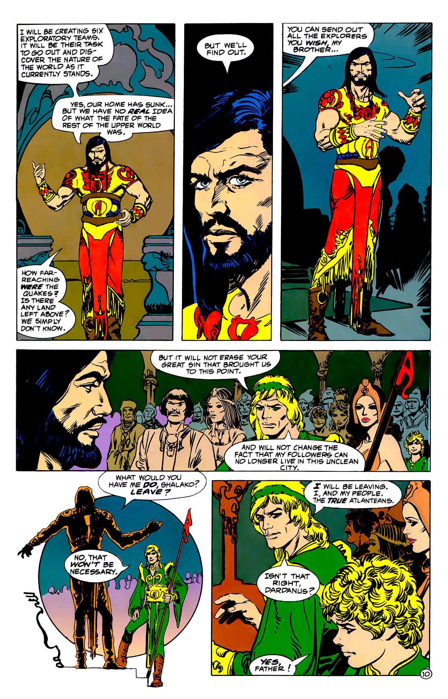 Read online Atlantis Chronicles comic -  Issue #2 - 10