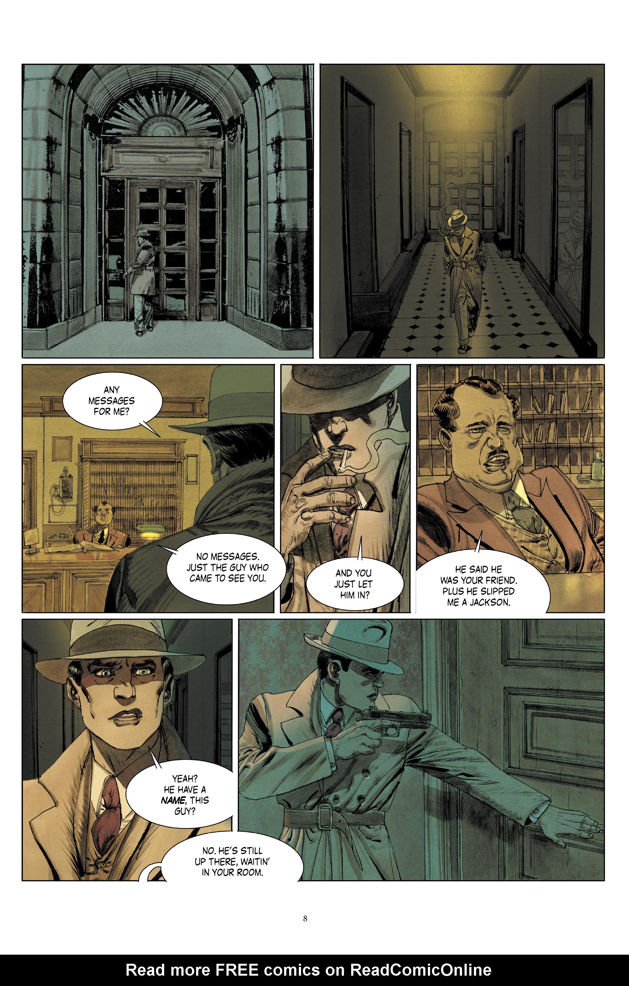 Read online Triggerman comic -  Issue #5 - 9