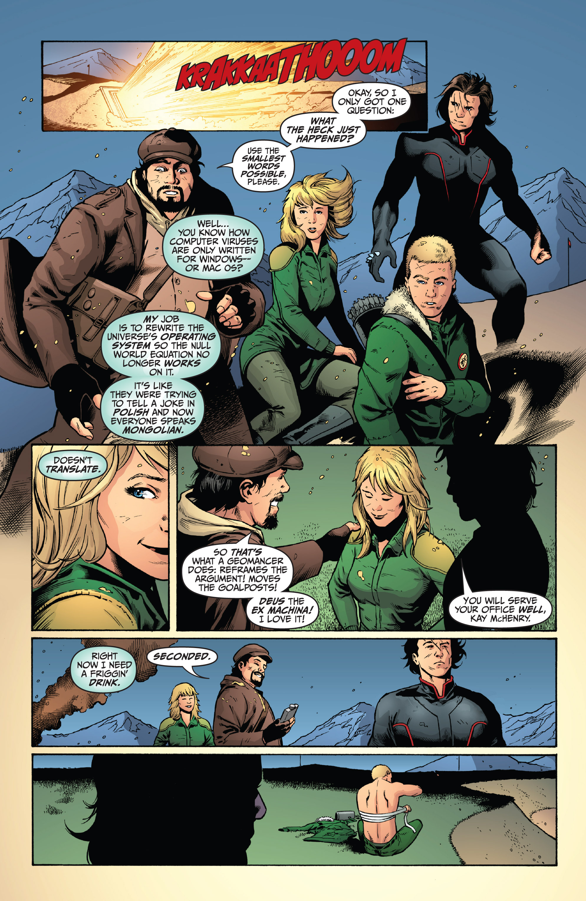 Read online Archer and Armstrong comic -  Issue #9 - 21