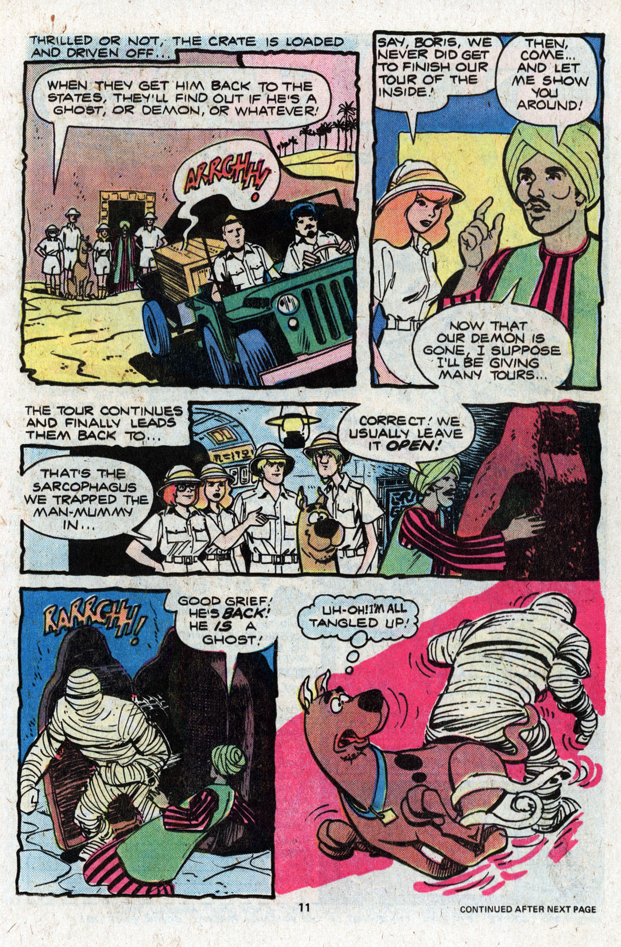 Read online Scooby-Doo (1977) comic -  Issue #4 - 13