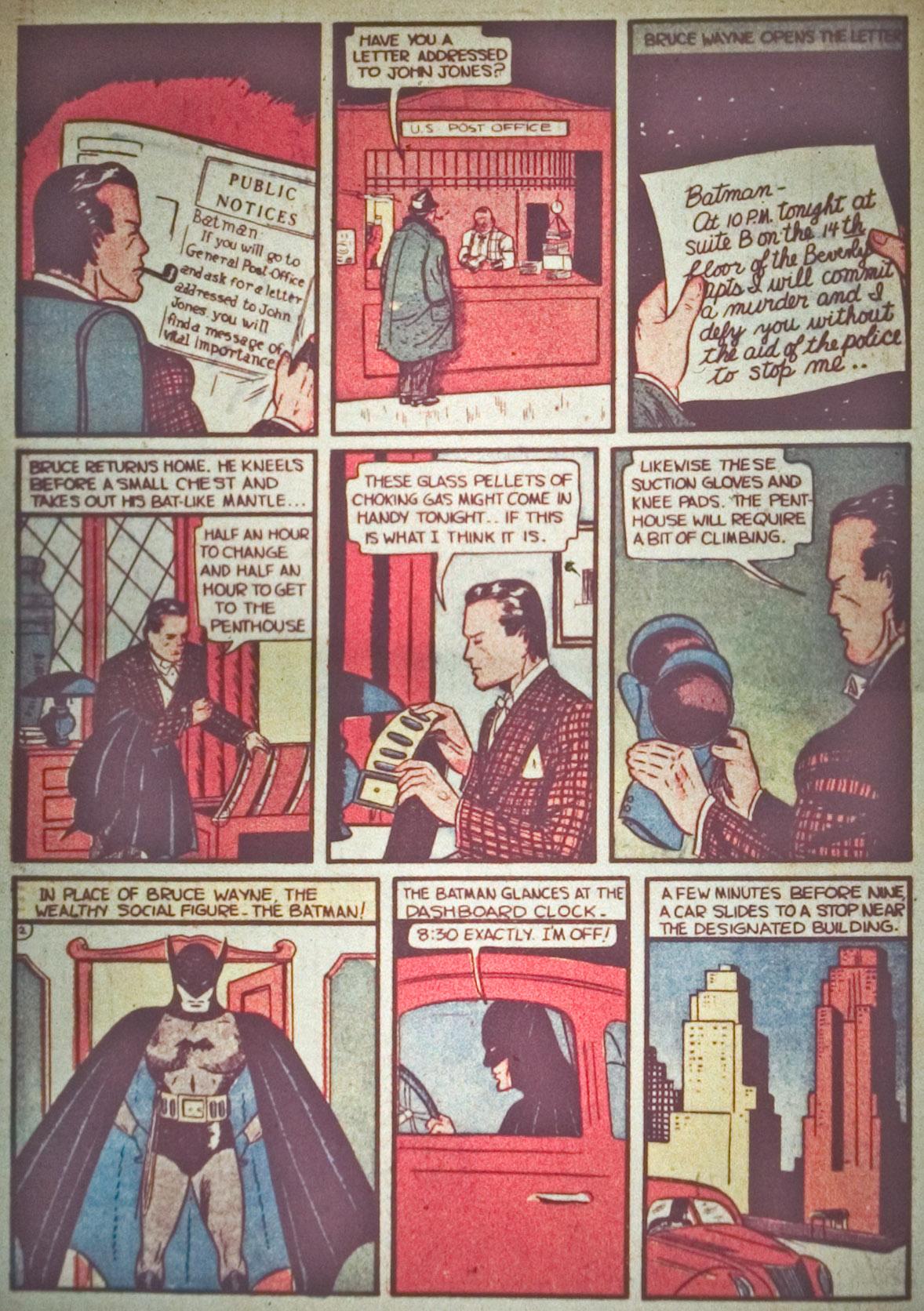 Detective Comics (1937) 29 Page 3