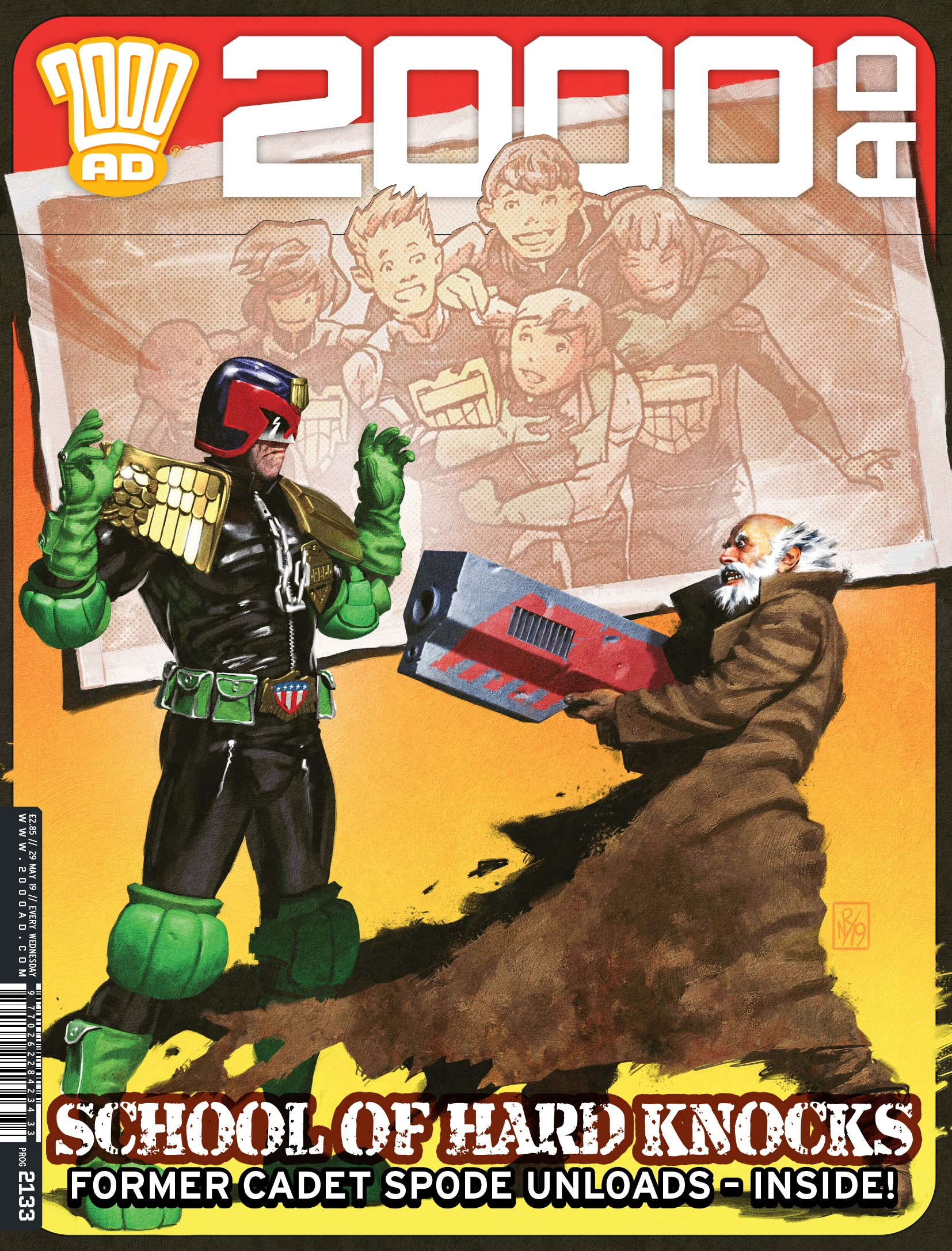 2000 AD 2133 Page 1
